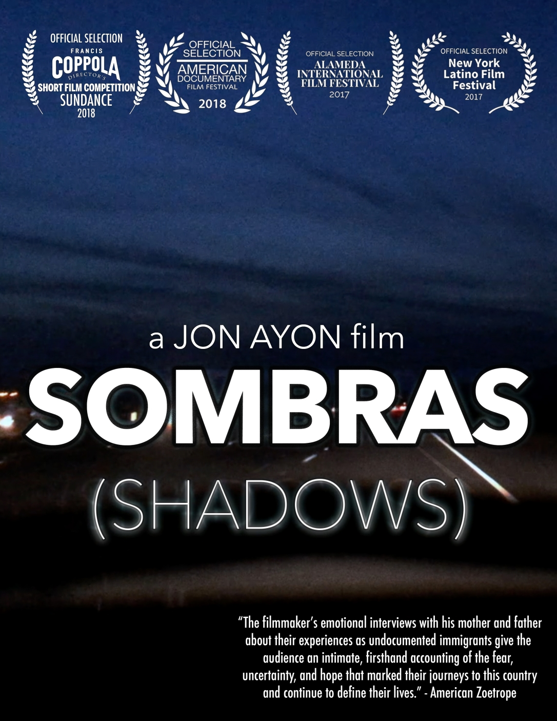 Sombras Poster