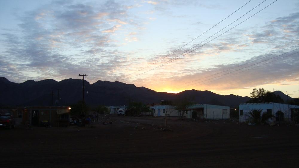 Dawn Punta Chueca